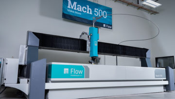 Adquisición nueva máquina por chorro de agua