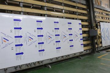 Corte de panel composite